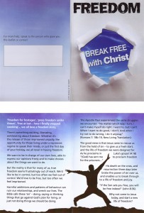 Break free with Christ