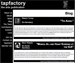 Tapfactory.org.uk