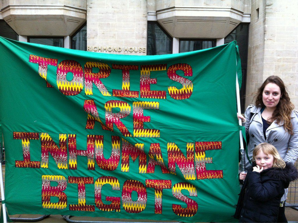 Photo credit: Eleanor Turney. Banner credit: presumably those pictured.