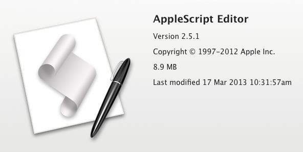 AppleScript Editor
