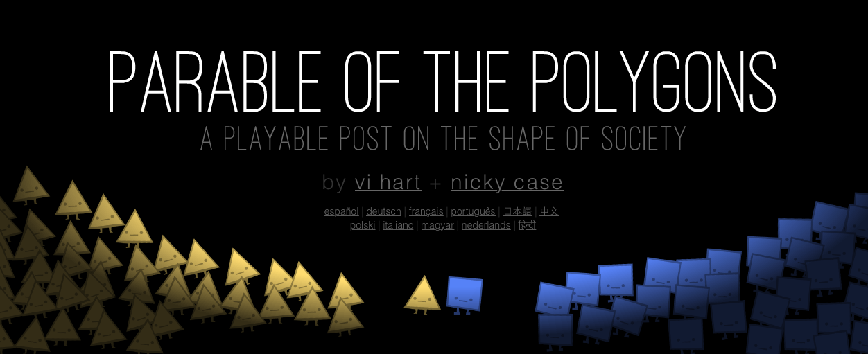 Parable of the Polygons title