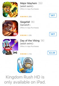 some more ios free-to-play game icons featuring lots of teeth and saliva